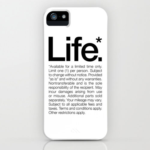 LIFE_iPhone_White_WORDS_BRAND_Society6